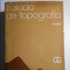 Libros de segunda mano de Ciencias: TRATADO DE TOPOGRAFIA. PASINI. EDITORIAL GUSTAVO GILI, 1969. TAPA DURA CON SOBRECUBIERTA. 655 PAGINA. Lote 74548611