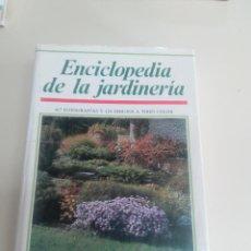 Libros de segunda mano: ENCICLOPEDIA DE LA JARDINERIA-CESTMIR BOHM-ED. SUSAETA-1989-2º ED.-TAPA DURA-SOBRECUBIERTA. Lote 74606231