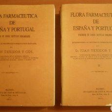 Libros de segunda mano: FLORA FARMACÉUTICA DE ESPAÑA Y PORTUGAL FACSÍMIL DE 1871 JUAN TEIXIDOR Y COS. BOTÁNICA PLANTAS MEDIC. Lote 74614799