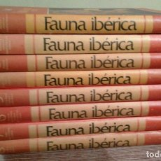 Libros de segunda mano: FAUNA IBÉRICA Y EUROPEA - FÉLIX RODRÍGUEZ DE LA FUENTE - COMPLETA 8 TOMOS - SALVAT. Lote 74668067