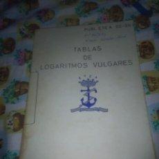 Libros de segunda mano de Ciencias: TABLAS DE LOGARITMOS VULGARES. SEPTIEMBRE 1972. EST1B2. Lote 74680851