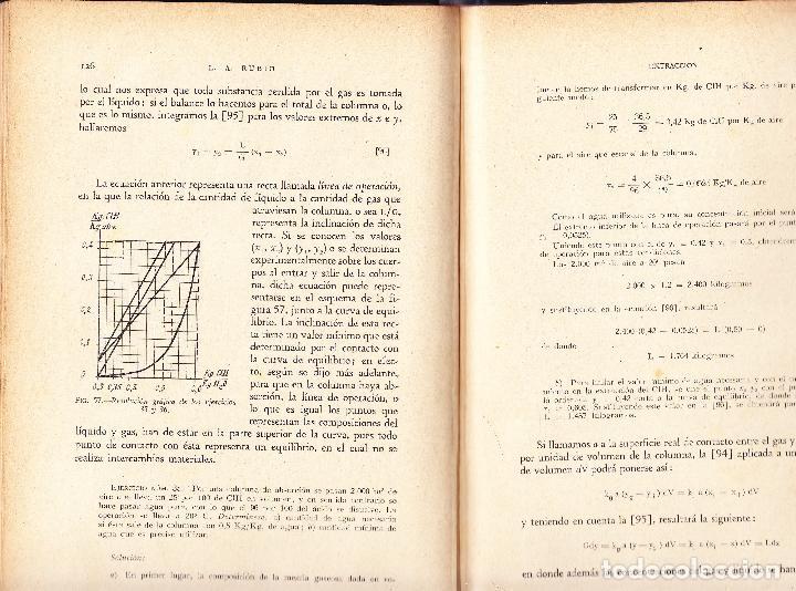 Libros de segunda mano de Ciencias: TECNOLOGIA QUIMICA - LAMBERTO A RUBIO FELIPE - 1949 ILUSTRADO - Foto 3 - 74712223