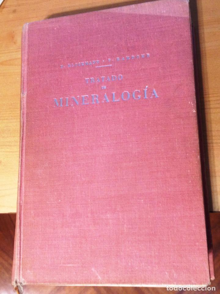 TRATADO DE MINERALOGIA- FRANCISCO PRADILLO- 2ª EDICIÓN- 1961 (Libros de Segunda Mano - Ciencias, Manuales y Oficios - Física, Química y Matemáticas)
