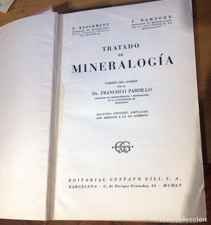 Libros de segunda mano de Ciencias: TRATADO DE MINERALOGIA- FRANCISCO PRADILLO- 2ª Edición- 1961 - Foto 3 - 75071107