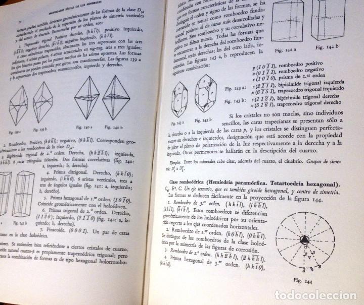 Libros de segunda mano de Ciencias: TRATADO DE MINERALOGIA- FRANCISCO PRADILLO- 2ª Edición- 1961 - Foto 4 - 75071107
