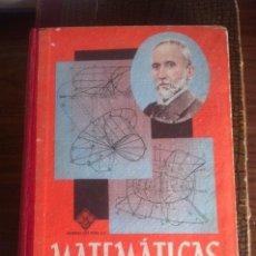 Libros de segunda mano de Ciencias: MATEMÁTICAS 6º CURSO - LUIS VIVES 1955. Lote 75249827