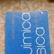 Libros de segunda mano de Ciencias: QUIMICA FISICA GORDON M. BARROW 3ª ED. EDITORIAL REVERTÉ. Lote 75964571