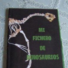 Libros de segunda mano: MI FICHERO DE DINOSAURIOS. ANAYA.. Lote 77256753