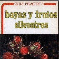 Libros de segunda mano: GUÍA PRÁCTICA DE BAYAS Y FRUTOS SILVESTRES (DAIMON, 1986). Lote 77324941