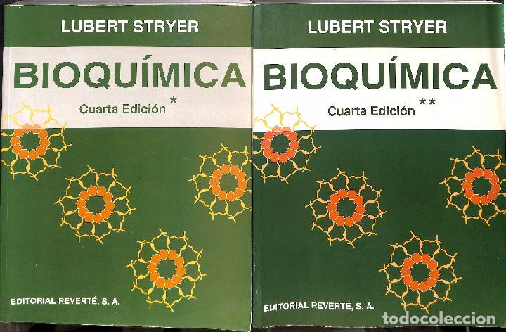 BIOQUIMICA TOMO I / TOMO II - STRYER, LUBERT (Libros de Segunda Mano - Ciencias, Manuales y Oficios - Física, Química y Matemáticas)