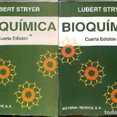 Libros de segunda mano de Ciencias: BIOQUIMICA TOMO I / TOMO II - STRYER, LUBERT. Lote 77351793