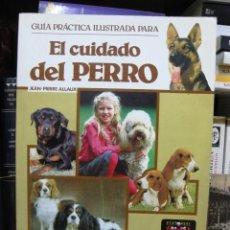 Libros de segunda mano: GUÍA PRÁCTICA ILUSTRADA PARA EL CUIDADO DEL PERRO (MANUAL MUY COMPLETO, RAZAS DE PERROS, CUIDADOS). Lote 77450577