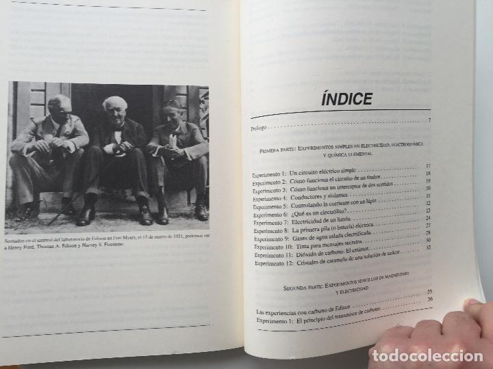 Libros de segunda mano de Ciencias: EXPERIMENTOS FÁCILES E INCREIBLES - FUNDACIÓN THOMAS ALVA EDISON - EDITORIAL MARTINEZ ROCA - Foto 5 - 77540413