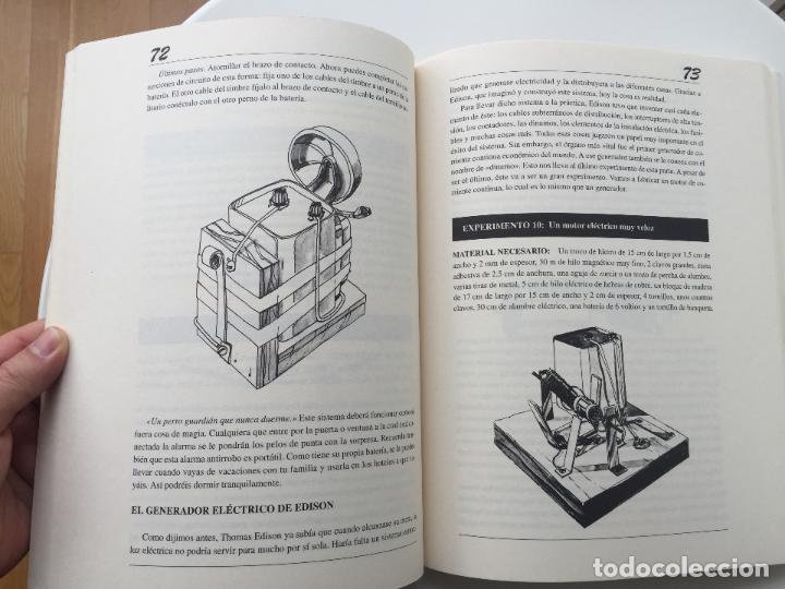 Libros de segunda mano de Ciencias: EXPERIMENTOS FÁCILES E INCREIBLES - FUNDACIÓN THOMAS ALVA EDISON - EDITORIAL MARTINEZ ROCA - Foto 8 - 77540413