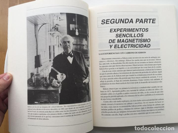 Libros de segunda mano de Ciencias: EXPERIMENTOS FÁCILES E INCREIBLES - FUNDACIÓN THOMAS ALVA EDISON - EDITORIAL MARTINEZ ROCA - Foto 9 - 77540413