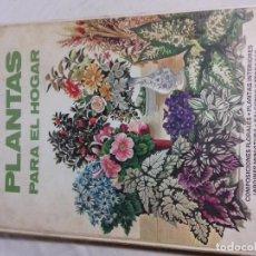 Libros de segunda mano: FLORES Y PLANTAS PARA EL HOGAR-JAIMES LIBROS-E.GUNDRY Y C.WICKAHAM-1974. Lote 77570005