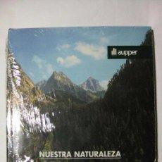 Libros de segunda mano: NUESTRA NATURALEZA - ÁREAS PROTEGIDAS I - EDICIONES AUPPER (PRECINTADO) LA PENÍNSULA IBÉRICA. Lote 77820153