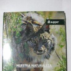 Libros de segunda mano: NUESTRA NATURALEZA - ESPECIES PROTEGIDAS II - EDICIONES AUPPER (PRECINTADO). Lote 77826489