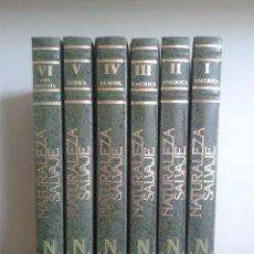 Libros de segunda mano: NATURALEZA SALVAJE -- PARQUES NACIONALES DEL MUNDO -- 6 TOMOS -- EDICIONES NAUTA -- 1989 --. Lote 77835301