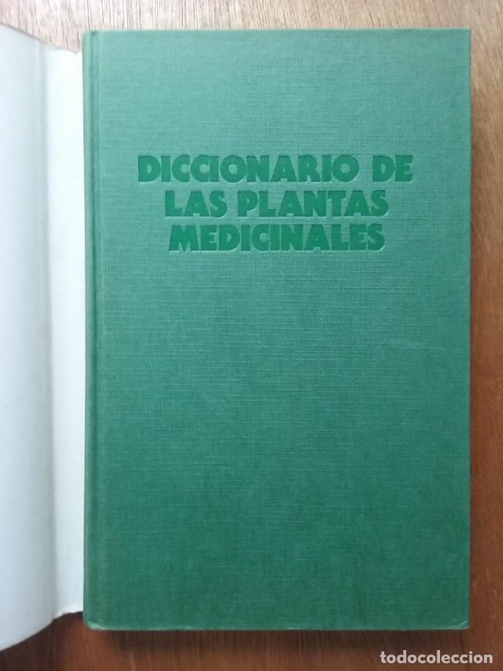 Libros de segunda mano: DICCIONARIO DE LAS PLANTAS MEDICINALES, EDITORS - Foto 2 - 78405605