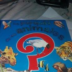 Libros de segunda mano: LOS PORQUÉS DE LOS ANIMALES?.LIBRO INFANTIL ILUSTRADO A COLOR. Lote 79476485