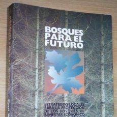 Libros de segunda mano: BOSQUES PARA EL FUTURO. ESTRATEGIAS LOCALES PARA LA PROTECCIÓN DE LOS BOSQUES (BOTH ENDS, ECONET). Lote 79628097
