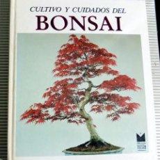 Libros de segunda mano: CULTIVO Y CUIDADOS DEL BONSAI. EDICIONES MONT NEGRE. 1986. Lote 80089205