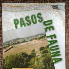 Libros de segunda mano: M-501: PASOS DE FAUNA. Lote 80284781