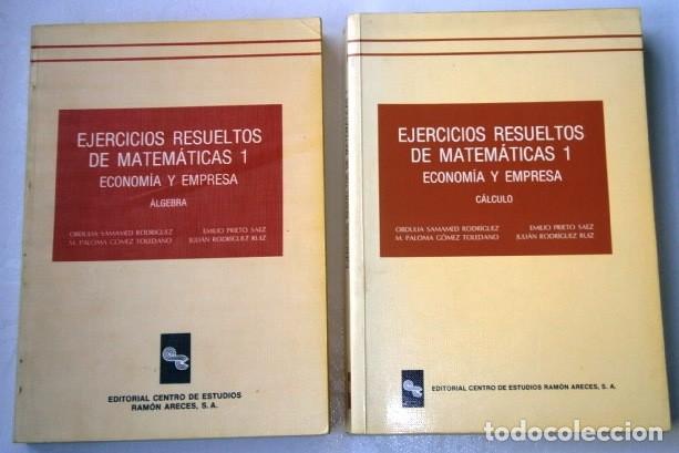 ejercicios resueltos de matemáticas 2t por emil - Comprar Libros de ...