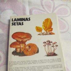 Libros de segunda mano: M69 LOTE FICHAS LABORATORIO EMYFAR SOBRE LAMINAS DE SETAS 50 LAMINAS JUAN ANTONIO SEOANE. Lote 80366797