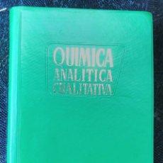 Libros de segunda mano de Ciencias: QUIMICA ANALITICA CUALITATIVA PARANINFO BURRIEL LUCENA ARRIBAS - MUY BUEN ESTADO. Lote 80482273