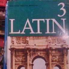 Libros de segunda mano de Ciencias: LATÍN. 3. TERCER CURSO (SALAMANCA, 1970). Lote 80872955