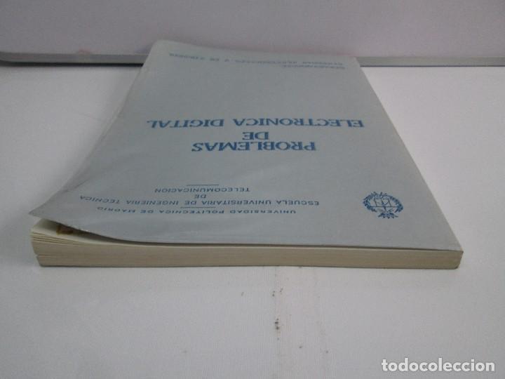 Libros de segunda mano de Ciencias: PROBLEMAS DE ELECTRONICA DIGITAL. UNIVERSIDAD POLITECNICA DE MADRID. 1987. VER FOTOGRAFIAS - Foto 5 - 81064428
