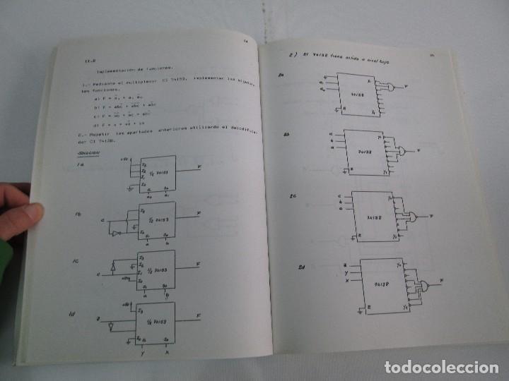 Libros de segunda mano de Ciencias: PROBLEMAS DE ELECTRONICA DIGITAL. UNIVERSIDAD POLITECNICA DE MADRID. 1987. VER FOTOGRAFIAS - Foto 10 - 81064428