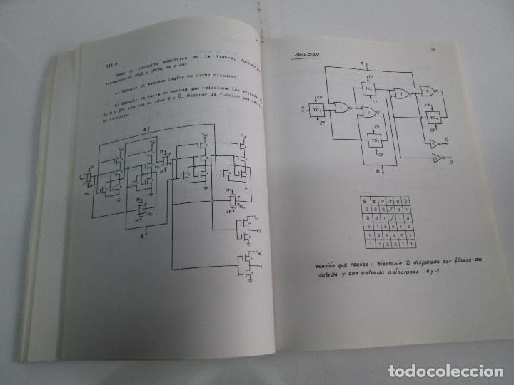 Libros de segunda mano de Ciencias: PROBLEMAS DE ELECTRONICA DIGITAL. UNIVERSIDAD POLITECNICA DE MADRID. 1987. VER FOTOGRAFIAS - Foto 12 - 81064428