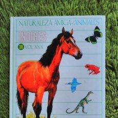 Libros de segunda mano: NATURALEZA AMIGA ANIMALES INDICES 30 VOLUMEN 30 XXX - MONTENA MONDIBERICA. Lote 81357959