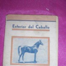 Libros de segunda mano: EXTERIOR DEL CABALLO JOSE SARAZA MURCIA, 3ª EDICION DE 1942 CORDOBA. Lote 81638780