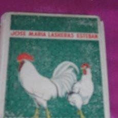 Libros de segunda mano: MANUAL DE AVICULTURA JOSE MARIA LASHERAS ESTEBAN EDITORIAL AÑO 1951. Lote 81641184
