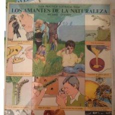 Libros de segunda mano: GUIA ILUSTRADA PARA LOS AMANTES DE LA NATURALEZA - CON ALGUNAS PAGINAS RECORTADAS--REFM1E4. Lote 150977232