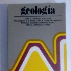 Libros de segunda mano: GEOLOGÍA. Lote 106085616