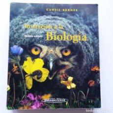 Libros de segunda mano: INVITACION A LA BIOLOGIA CURTIS - BARNES EDITORIAL MEDICA PANAMERICANA 1997. Lote 172643629