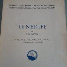 Libros de segunda mano: TENERIFE-GEOLOGIA Y VOLCANOLOGIA DE LAS ISLAS CANARIAS- J.M. FUSTER-1968-BILINGUE INGLES CAST.. Lote 83118228