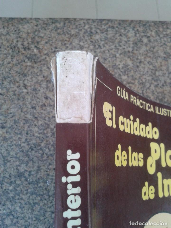 Libros de segunda mano: EL CUIDADO DE LAS PLANTAS DE INTERIOR -- GUIA PRACTICA -- EDITORIAL BLUME - 1982 -- - Foto 4 - 83411324