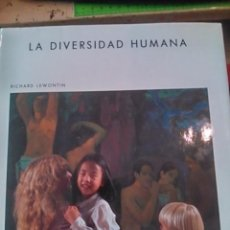 Libros de segunda mano: LA DIVERSIDAD HUMANA (BARCELONA, 1984). Lote 83561088