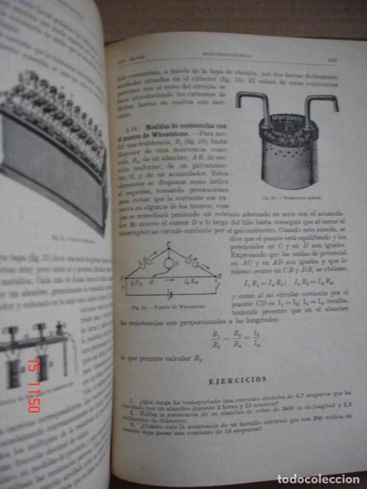 Libros de segunda mano de Ciencias: FÍSICA GENERAL - JULIO PALACIOS - EDITORIAL ESPASA CALPE, 1949 - PRIMERA EDICIÓN - Foto 5 - 83643892