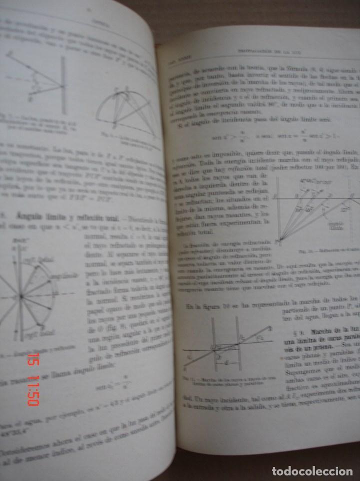 Libros de segunda mano de Ciencias: FÍSICA GENERAL - JULIO PALACIOS - EDITORIAL ESPASA CALPE, 1949 - PRIMERA EDICIÓN - Foto 7 - 83643892