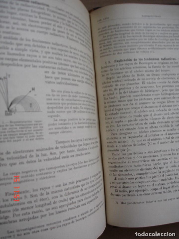 Libros de segunda mano de Ciencias: FÍSICA GENERAL - JULIO PALACIOS - EDITORIAL ESPASA CALPE, 1949 - PRIMERA EDICIÓN - Foto 9 - 83643892