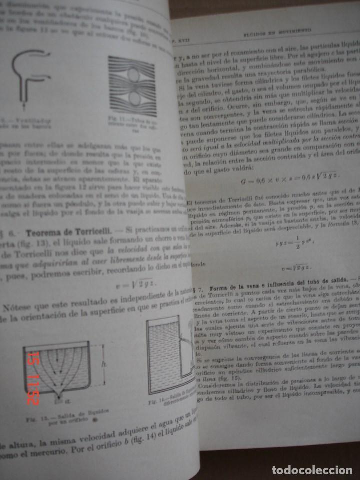 Libros de segunda mano de Ciencias: FÍSICA GENERAL - JULIO PALACIOS - EDITORIAL ESPASA CALPE, 1949 - PRIMERA EDICIÓN - Foto 11 - 83643892