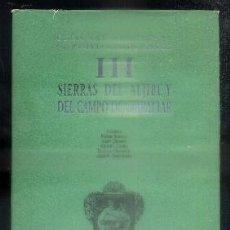 Livres d'occasion: GUIAS NATURALISTAS DE LA PROVINCIA DE CADIZ. SIERRAS DEL ALJIBE Y DEL CAMPO DE GIBRALTAR. TOMO III.. Lote 84231260