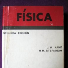 Libros de segunda mano de Ciencias: FÍSICA. SEGUNDA EDICIÓN, DE J. W. KANE Y M. M. STERNHEIM. Lote 84516476